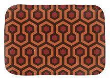 New OVERLOOK Microfiber Bathmat, Shining Horror Hotel Carpet Pattern, Halloween