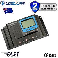 Solar Regulator Caravan Charge Controller 30A PWM LCD 12v / 24v Auto LCD USB LOG