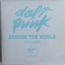 DAFT PUNK AROUND THE WORLD RARE  1-TRACK PROMO CD