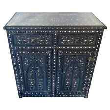 1920s Moroccan Commode, Chest, Cabinet or Sideboard with Arch Design