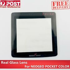 NEO GEO POCKET COLOR NGPC Screen Lens (1 Piece) REAL GLASS! Never Abrasion!