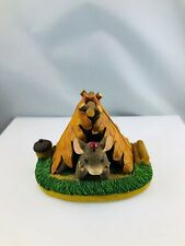 Charming Tails Camping Out 83/703 Figurine