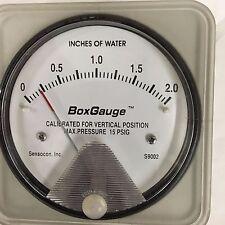 S9002 Differential  Pressure Gauge