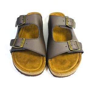 Alpine Design Women's 2-Buckle Sandal - Brown - Size 10