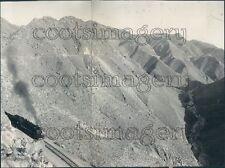 1922 San Diego & Arizona Railroad Mountain & Canyon Press Photo