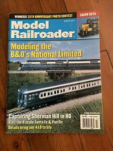Model Railroader March 2002