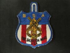 1952 Salvation Army Jamboree, Netherlands, US Contingent Patch  c46