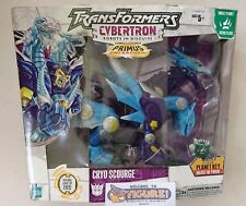 TransFormers Cybertron/Galaxy Force Primus Unleashed CRYO SCOURGE action figure