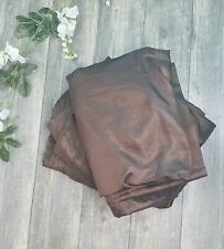 3X Eclipse Black Out Panel Curtain 52 W x 84 L Chocolate Satin