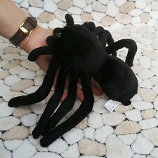 Lovely Simulated Animals Spider Toy Soft Stuffed Plush Black Spiders Model New
