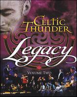 CELTIC THUNDER (DVD) LEGACY Volume 2 ~ ALL REGIONS NTSC TWO IRISH IRELAND *NEW*