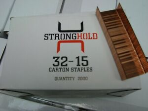 STICKFAST 32-15 INDUSTRIAL STAPLES 10 BOXES OF 2,000 (20,000)