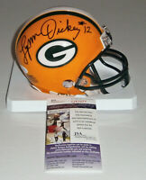 PACKERS Lynn Dickey signed mini helmet w/ #12 JSA COA AUTO Autographed Green Bay
