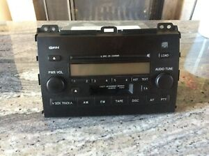 autoradio toyota land cruiser.