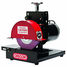 Oregon 1/3 HP Benchtop Grinder Sharpener for Lawn Mower Blades 88-025