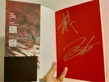 Signed Xiao Zhan YiBo Autographed Book The Untamed Grandmaster of Demonic Cultiv