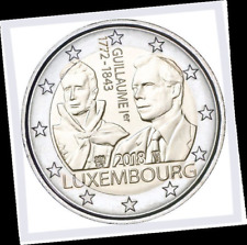 2 EURO *** Luxembourg 2018 *** 175 jaar/ans Guillaume *** Luxemburg 2018 !!!