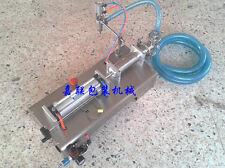 LIQUID FILLING MACHINE PNEUMATIC FOR SHAMPOO,OIL,WATER PERFUME 100-1000ML TOP