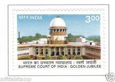PHILA1721 INDIA 1999 SUPREME COURT OF INDIA GOLDEN JUBILEE MNH