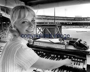 Nancy Faust Chicago White Sox Organist Comiskey Park 1970-2010 B+W 8x10 D