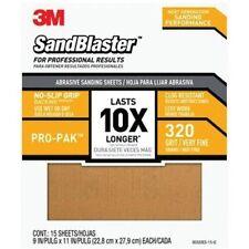 Sandpaper Grip 320 9x11in 15pk