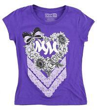 Metal Mulisha Girls Heart Tee Size S 5/6