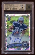 BGS 10 *10* DeMARCO MURRAY TOPPS CHROME RC AUTO /50 CRYSTAL ATOMIC REFRACTOR HOT