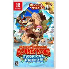 Donkey Kong Tropical Freeze Nintendo Switch Japanese Import Region