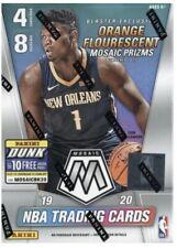 19-20 Panini Mosaic Nba Basketball Blaster Box Orange Silver Prizm Zion Ja Auto?