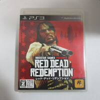 Red Dead Redemption (Sony PlayStation 3, 2010) Japanese Version