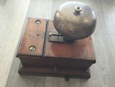 Antique wall mounted electric bell London Underground bell