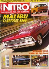 Nitro n°234 - 2008 - Mailbu Cabriolet 1966 - Cadillac CTS  - Belvedere 1958 -