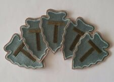 Lot 5 Patches US 36th infantry division WW2 REPRODUZIONE