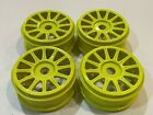 Jconcepts 1/8 Relux Yellow 17mm Buggy Rims (4) Xray TLR Mugen ASC