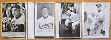 Lot of 4 Vintage 1966 to 1975 Walter Alston Los Angeles Dodgers Wire Photos