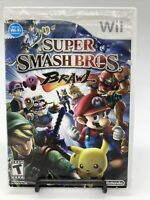 Super Smash Bros. Brawl Nintendo Wii (2008) Game Complete W/ Manual