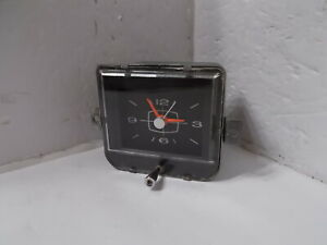 1965 Plymouth Fury Clock. Serviced ,Tested & Works Perfectly.