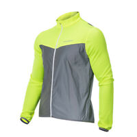 ROCKBROS Cycling Reflective Vest Sports Windproof Long Sleeve Coat Jersey
