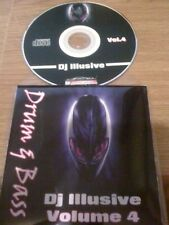 DJ ILLUSIVE VOL.4 DRUM & BASS - LIVE & LOUD 2002 DJ MIX