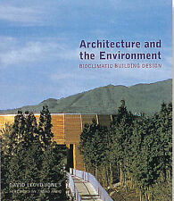 Architecture and the Environment: Contemporary Bioclimatic Buildings-ExLibrary