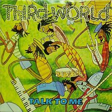"""THIRD WORLD 'TALK TO ME' UK PICTURE SLEEVE 7"""" SINGLE"""
