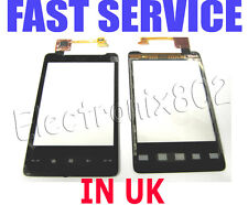 HTC HD Mini T5555 LCD Top Touch Screen Digitizer Front Glass Panel Pad Black UK