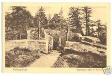 AK, Fichtelgebirge, Waldstein, Ruine, um 1928
