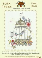 BOTHY THREADS LOVE BIRDS COUNTED CROSS STITCH KIT 20x25cm BY KIM ANDERSON - NEW