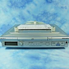 Sony ICF-CD543RM Mega Bass Under Cabinet Space Saver CD AM FM Clock Radio Manual