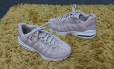 Euc Older Girls Womens Pink Rose White  Nike Air Max 95 SS trainers size 5 EU 38