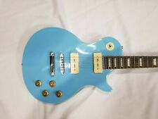 LIQUIDATION - B Stock Reville MV-X Electric Guitar with P90s Sonic Blue Lot 022