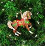 Breyer 700501 2001 Porcelain Carousel Horse Holiday Christmas Ornament - NIB