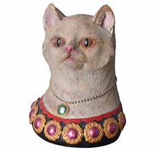 Tierbüste Figur Katze Katzenbüste Vintage Katzenskulptur Büste Katzenkopf Kitten