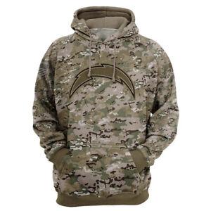 Los Angeles Chargers Fan Hoodie Hooded Sweatshirt Sports Coat Spring Jacket Gift